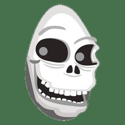 crânio fantasma Halloween 2