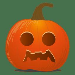 Emoticon de abóbora de Halloween