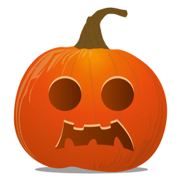 Emoticon de calabaza de Halloween