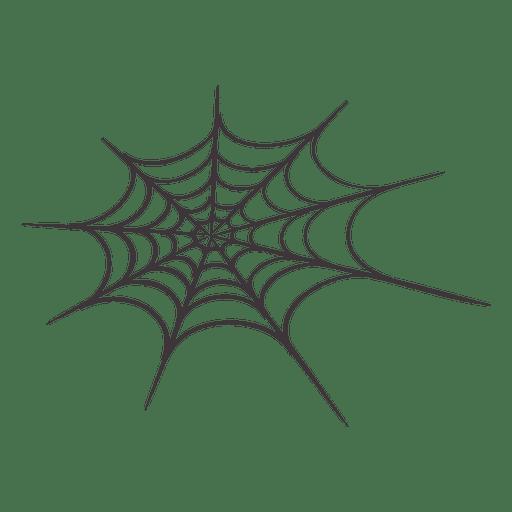 Halloween spider web 2 Transparent PNG