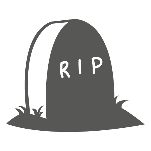 Halloween tombstone sketch icon Transparent PNG