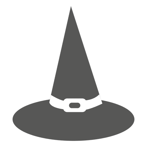 Halloween Witch Hat Silhouette Transparent Png Svg Vector File