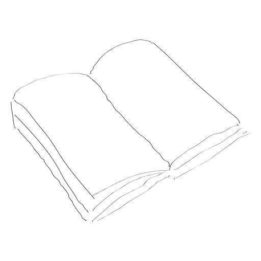 Libro dibujado a mano
