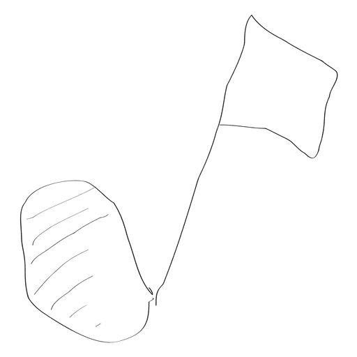 Hand drawn musical note Transparent PNG