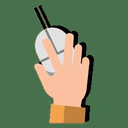 Mão, rato, caricatura