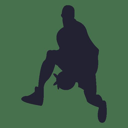 Silueta de jugador de balonmano Transparent PNG