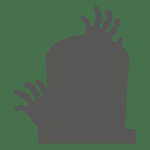 Mãos ao redor de lápide Transparent PNG