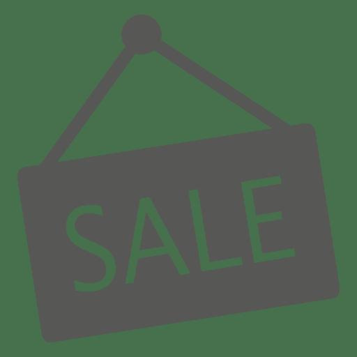 Icono de signo de venta colgante Transparent PNG
