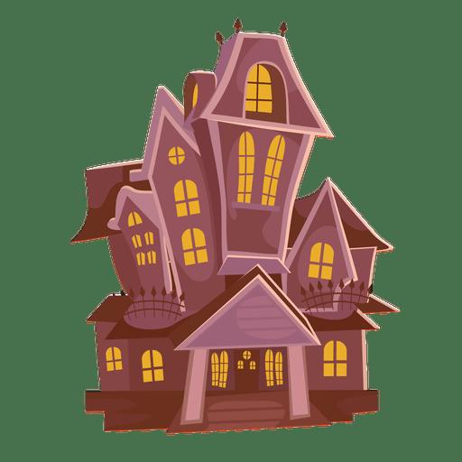 Haunted castle cartoon 2