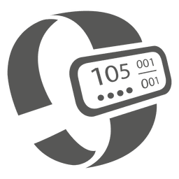 Heartrate bracelet icon