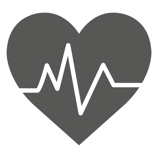 Heartrate Heart Icon Transparent PNG amp SVG Vector