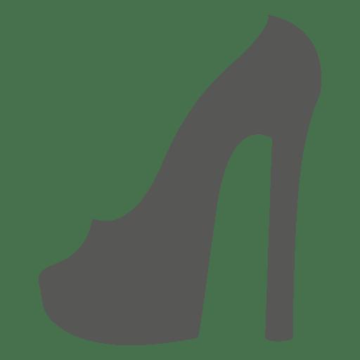 trasparente Png Icona tacco alto donna per scarpa VGpLSzjqUM