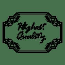A mais alta qualidade emblema decorativo 3