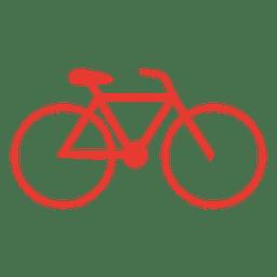 ícone da bicicleta Hipster