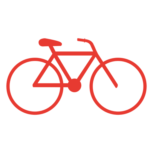 Hipster bicycle icon Transparent PNG