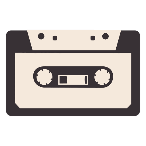 Hipster cassette tape 3 Transparent PNG