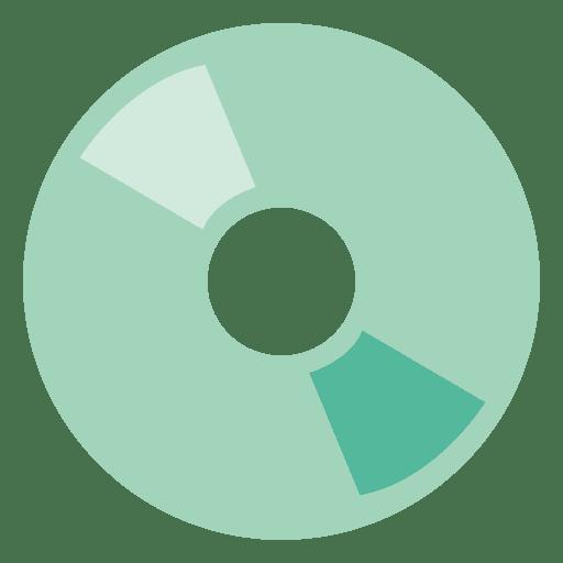 Disco de cd de hipster Transparent PNG