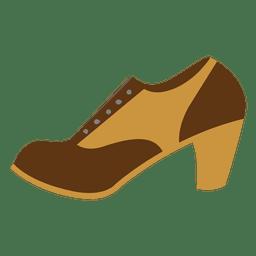 Hipster weiblichen Ferse Schuh
