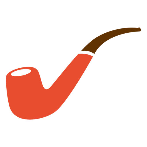 Hipster smoking pipe Transparent PNG