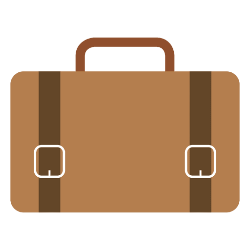 Hipster suitcase 3 Transparent PNG