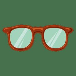 Hipster de cristal grueso 5