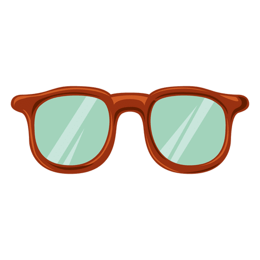 Hipster thick glass 5 png