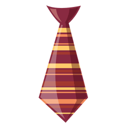 Laço listrado do moderno gravata