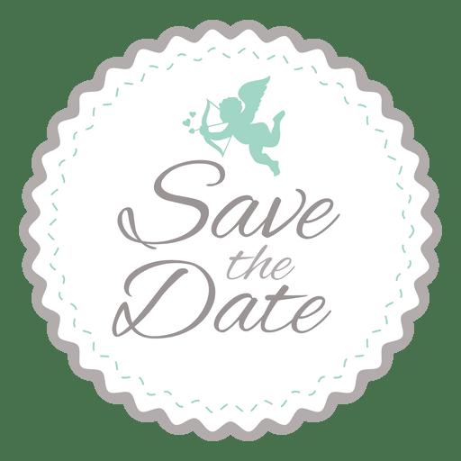Hipster wedding badge 4 Transparent PNG