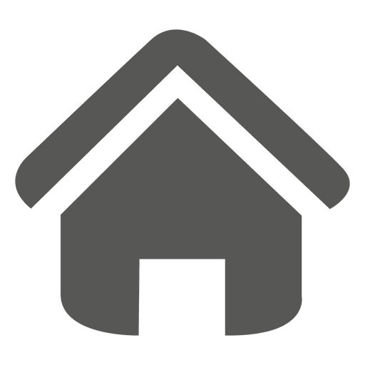 Home flat icon Transparent PNG