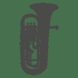 Horn high silhouette