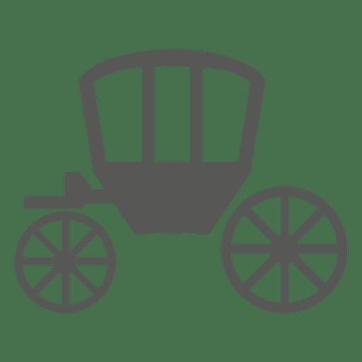 Ícone de carrinho de cavalo Transparent PNG