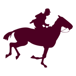 Horse riding sequence 8