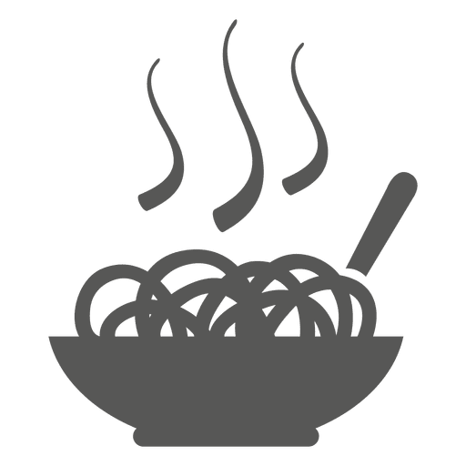 Hot chow mein icon Transparent PNG