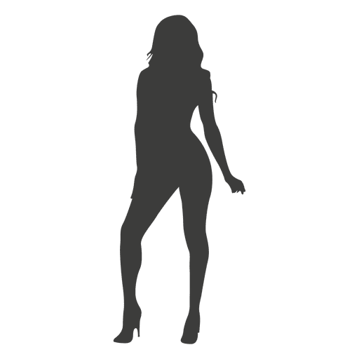 Hot female silhouette Transparent PNG