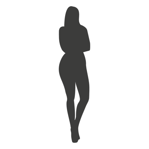Hot girl silhouette