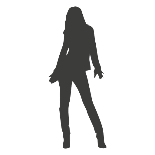 Hot girl silhouette 1 Transparent PNG