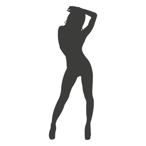 Hot girl silhouette 2 Transparent PNG