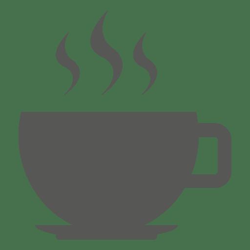 Icono de taza de té caliente