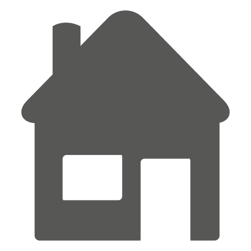 House flat icon - Transparent PNG & SVG vector
