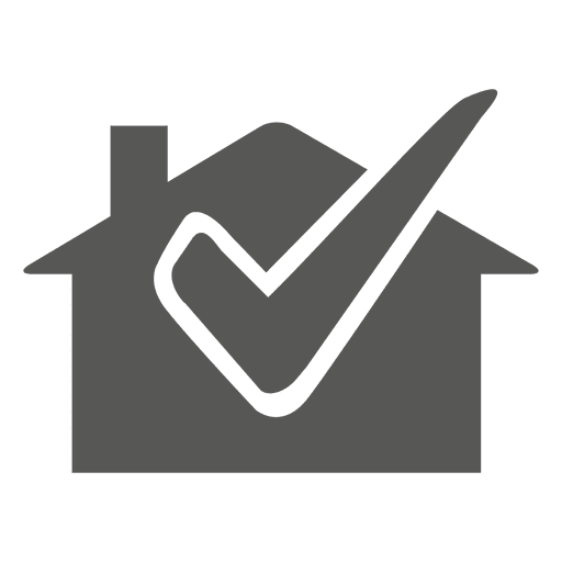 House with check icon