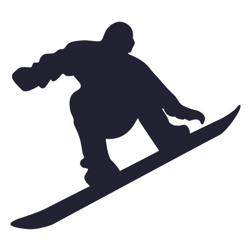 Ice skating player silhouette Transparent PNG