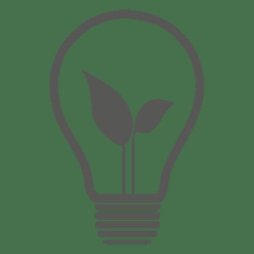 Icono de bombilla de idea Transparent PNG