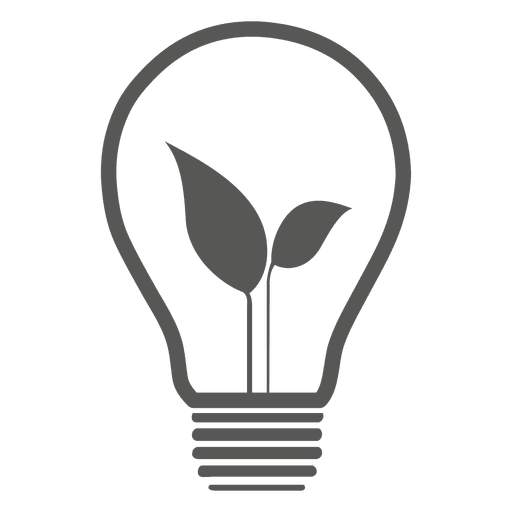Idea bulb icon Transparent PNG