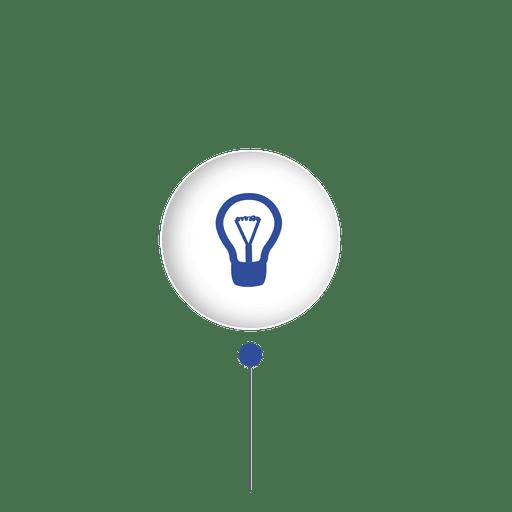 Idea bulb sphere connect infographic Transparent PNG