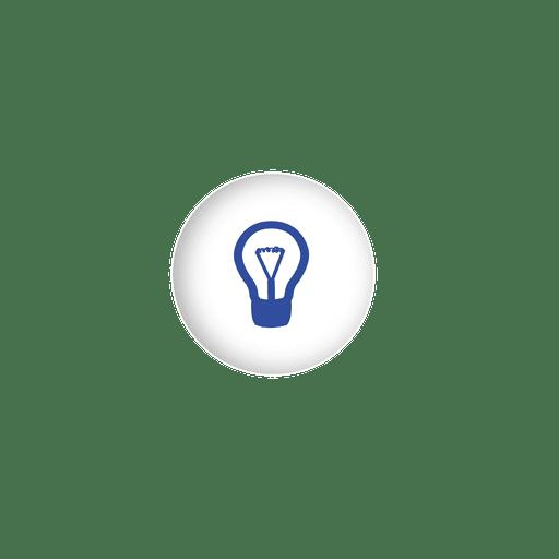 Idea bulb sphere infographic
