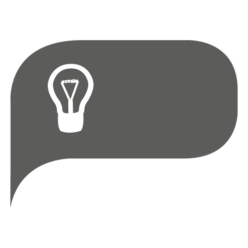 Idea icon bubble infographic