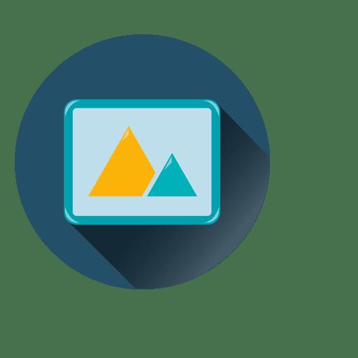 Icono de círculo de imagen Transparent PNG