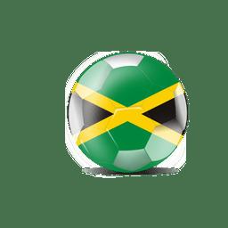Bola bandeira jamaica