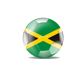 Jamaica flag ball
