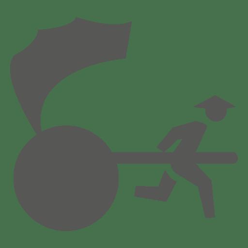 Icono de rickshaw japonés Transparent PNG